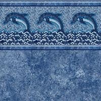 Dolphin Mosaic Tile, Avelino Floor