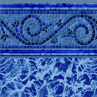 Siesta Wave Blue Tile, Blue Diffusion Floor