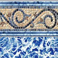 Siesta Wave Tan Tile, Diffusion Floor