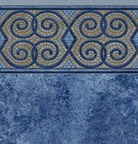 Curly Z Tile, Avelino Floor
