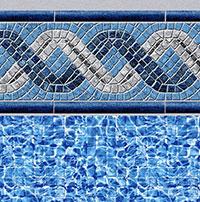 Braided River Tile, River Mosaic Floor