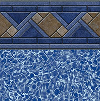 North Shore Tile, Blue Bahama Floor