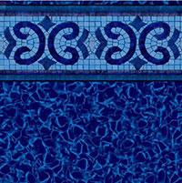 Oxford HD Tile, Electric Aquarius Floor