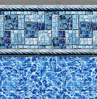 Summer River Tile, River Mosaic Floor