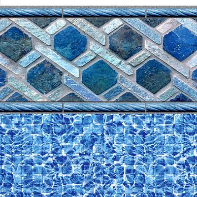 *NEW* Blueridge Tile, River Mosaic Floor 28/20 mil or 28 mil