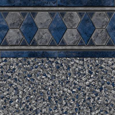 *New* Gray Baden Tile, Gray Brighton Floor 28/20 mil or 28 mil