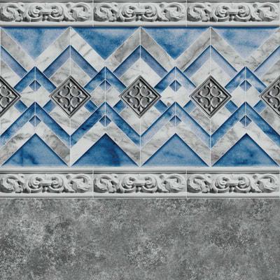 *New* Gray Neptune Tile, Gray Marino Floor 28/20 mil or 28 mil